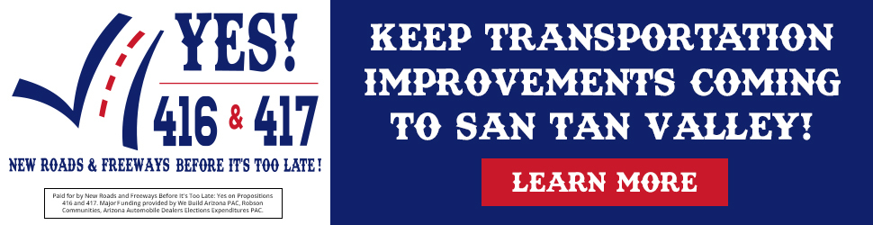 Keep Transportation Improvements Coming to San Tan Valley